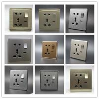 Quality One Gang 5 in Switch Socket White is standard but any color available Control Button, Start Button, Limit Button for sale