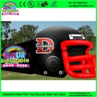Wholesale Giant outdoor used inflatable sports tunnel inflatable football helmet tunnel tent from china suppliers