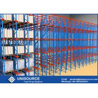 Buy cheap High Density Cold Storage Racking System , Powder Coated Industrial Rack Shelving from wholesalers