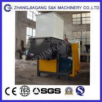 Wholesale 9CrSi Plastic recycling machine for Big Plastic Pipe , plastic recycling machinery from china suppliers