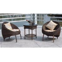 Wholesale Balcony furniture rattan table and chair from china suppliers