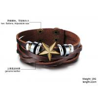 Wholesale Buy fashion jewelry 2014 New Fashion Leather Bracelets & Bangles BR40 from china suppliers