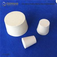 Buy cheap Shanghai Qinuo Manufacture Tapered Silicone Bung Stopper Laboratory Solid Test Tube Hollow Plug Intake Hose from wholesalers