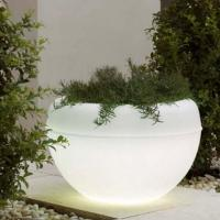 Wholesale roto molded led flower pot from china suppliers