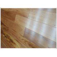 Buy cheap Tigerwood  HDF engineered flooring, 3-layer, UV lacquer from wholesalers