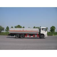 Quality 31 Ton Dongfeng 6x4 Carbon Steel Oil Tank Truck For Fuel Delivery Transportation for sale
