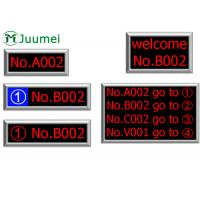 Wholesale Dot Matrix Token LED Counter Display Bank Queue Number System from china suppliers
