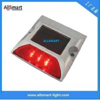 Wholesale Solar road studs ASD-007 3led single line solar road cap lights from china suppliers