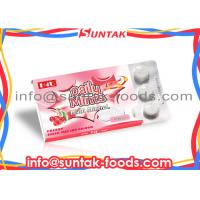 Wholesale Custom Round White Functional Candy Multi Mineral Sour Cherry Candy from china suppliers