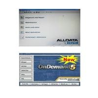 Quality Alldata 10.50 and Mitchell Ondemand5 2 in 1 Automotive Diagnostic Software for sale