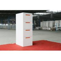 Wholesale vertical filing cabinet steel material 4 drawer,Powder coating,KD structure,white color from china suppliers