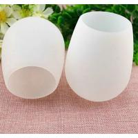 Wholesale good quality portable FDA and LFGB silicone cup for  wine ,flexible silicone wine cup from china suppliers