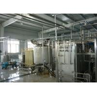 Quality Automatic Drinking Fresh Fruit Yoghurt / Flavoured Yogurt Production Line Equipment for sale