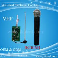 Wholesale JK006B Amplifier karaoke VHF wireless micphone module  with handheld microphone from china suppliers