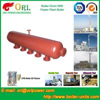 Wholesale Water Heat Boiler Mud Drum Anti Wind Single Type , Mud Drum In Boiler from china suppliers