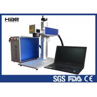 Wholesale Moveable 20w Fiber Laser Marking Machine For Metal Watches / Auto Parts from china suppliers