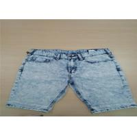 Buy cheap Soft Continous Feeling For Mens Short Pants Jeans Anti Wrinkle Skinny Cargo And Multifunction from wholesalers