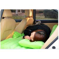 Wholesale Waterproof Green Mobile Inflatable Car Bed with No Chemical Scents / Carrying Convenient from china suppliers