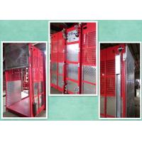 Quality 2 Motors Rack And Pinion Hoisting Equipment In Construction High Energy Saving for sale