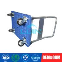 Wholesale Blue Foldable Standard Platform Hand Trolley for transport 300kg from china suppliers