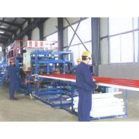 Wholesale Wall / Roof Panel Roll Forming Machine , Sandwich Panel Production Line from china suppliers