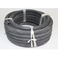 Wholesale Outer Fiber Braided Rubber Air Hose , Black Retractable Air Hose from china suppliers