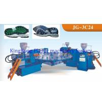 Wholesale Three Colors Footwear TPR Sole Moulding Machine For Sport Shoe 24 Stations from china suppliers