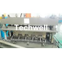 Wholesale 0.8-1.5mm Thickness Galvanized Steel Building Material High Speed Profile Deck Floor Cold Roll Forming Machine from china suppliers