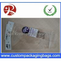 Wholesale Eco-friendly Custom Packaging Bag Plastic OPP Pringed / Clear with Header from china suppliers