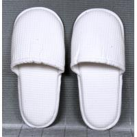 Wholesale Indoor promotional White non - woven, terry Ladies and Mens Spa, bar and Hotel Slipper from china suppliers