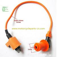 Wholesale KYMCO GY650 Ignition coil  Scooter Spare Parts / High voltage wire Silicone Orange from china suppliers