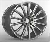 Wholesale Durable 20 Inch Alloy Wheels Tuning Wheel Matt Black Hyper Gunmetal from china suppliers