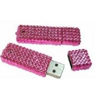 Wholesale high speed crystal diamond USB gadget usb flash drive 128MB - 32GB  from china suppliers