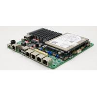 Wholesale Quad Gigabit Fanless Motherboard Mini ITX Size With SIM Card Slot from china suppliers