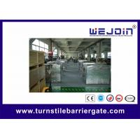 Wholesale Stainless Steel Full - auto Access Control Flap Barrier Gate With Double Channel from china suppliers
