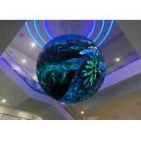 Wholesale 360° LED Video Display P4.17 Sphere LED Video Screen with Diameter of 4.08m from china suppliers