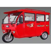 Wholesale Powerful 48V 850W Passenger Electric Powered Tricycle Taxi With Colosed Body from china suppliers