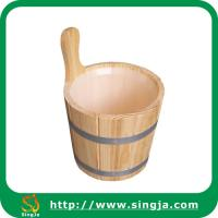 Quality Custom 6L bathroom bucket for sauna room for sale