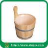 Buy cheap Custom 6L bathroom bucket for sauna room from wholesalers