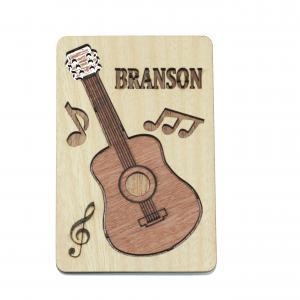 China Wooden fridge magnet on sale