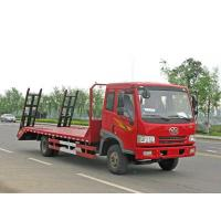 Wholesale FAW 4*2 9ton flatbed truck from china suppliers