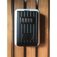 Wholesale Black & Silver Combination Digital Key Lock Box  for Indoor / Outdoor from china suppliers