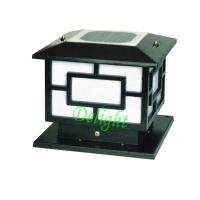 Wholesale Black outdoor garden solar energy LED solar post lamps (DL-SP562) from china suppliers