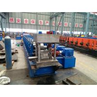 Wholesale 4mm Thickness U Section Guardrail Roll Forming Machine / Profile Roll Forming Machine from china suppliers