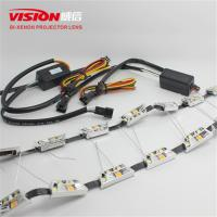 Wholesale High Quality Wholesale Price Car Accessories 12V Three Color Drl Led Daytime Running Light for Car Retrofit from china suppliers