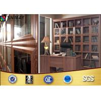 Wholesale Laminate Large Home Office Bookcases Antique Glass Door Bookshelf from china suppliers