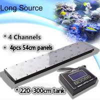 "Wholesale 96""/8ft Programmable Timer Saltwater Fish Sunrise/Sunset/Lunar LED Aquarium Light from china suppliers"