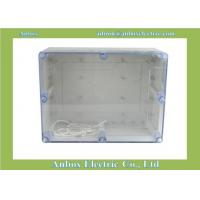 Wholesale 320*240*140mm ip66 Large Plastic Project Enclosure - Weatherproof with Clear Top from china suppliers