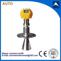 Buy cheap Smart radar level meter / radar level transmitter from wholesalers