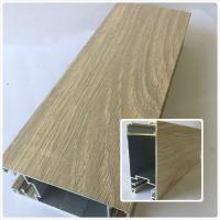 Wholesale Decorative Wood Grain Aluminum , Aluminium Door Profiles With Customize Length from china suppliers